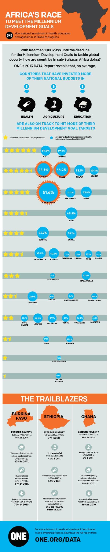 milledium development goals infographic