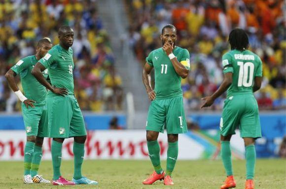 Grece cote d'Ivoire